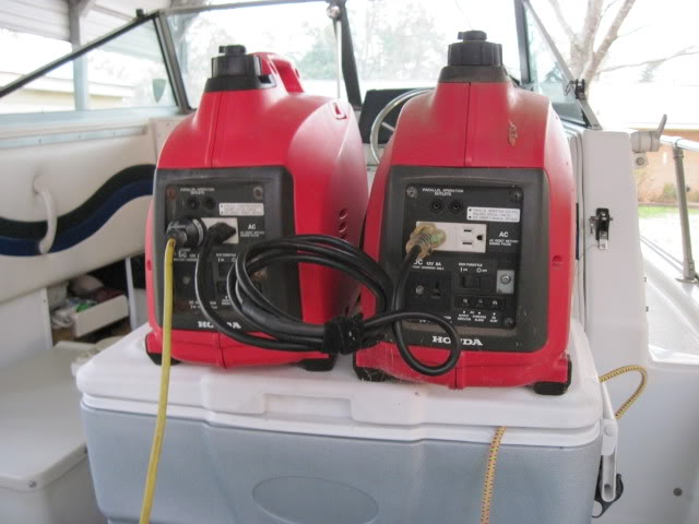 Portable generator power for your A/C - Trawler Forum