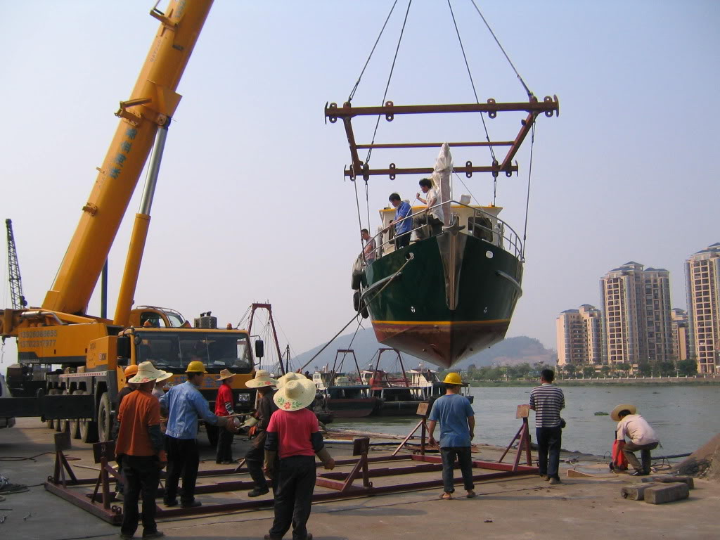 Boat Transport - Trawler Forum