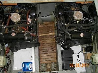 to - both engines and grey-flex battery cover looking astern 100_0612.jpg