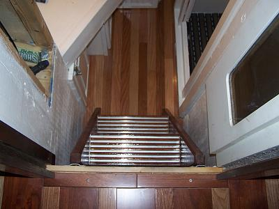 Click image for larger version  Name:stairs and flooring in forward berth.jpg Views:110 Size:108.1 KB ID:13340