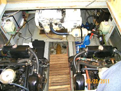 Click image for larger version  Name:TO - Both Engines and Genset - Looking Forward 100_0615.jpg Views:119 Size:177.5 KB ID:28548