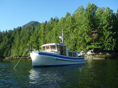 Click image for larger version  Name:Badger Stern Tied July '13.jpg Views:123 Size:177.7 KB ID:31171
