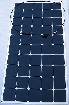 Click image for larger version  Name:Semi-Flexible 150 Watt Solar Panel, High Efficiency Sunpower Marine Rated.JPG Views:409 Size:116.2 KB ID:38026