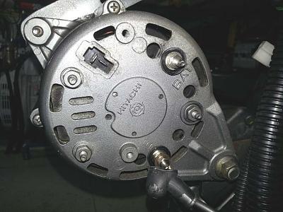 yanmar/hitachi alternator with battery isolator  trawler forum