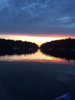 Click image for larger version  Name:Sunset at Montague Harbour.jpg Views:85 Size:64.4 KB ID:49774
