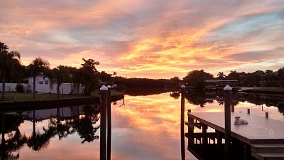 Click image for larger version  Name:Lucy Sunrise New Dock.jpg Views:83 Size:77.9 KB ID:63433
