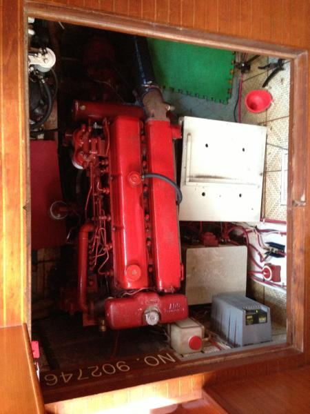 Trawler Engine Room: Ben's Album: Engine Room Workings